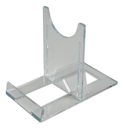 SS2 Blu-ray / DVD Large Steelbook Clear Plastic Display Stands